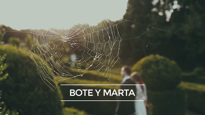 Bote y Marta Cinematempo Films videos originales de boda